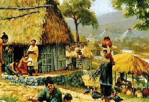 mayan society Tha mayan civilization began at about 500 bce, and their incredibly accurate astronomical calculations and sophisticated mathematics were steeped in religion and omens.